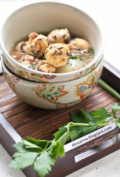 #Bakso or baso is Indonesian meatball or meat paste made from #beef #surimi and is similar in texture to the #Chinese beef ball, #fish ball, or #pork ball. #Indonesian #Food