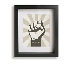 Fight The Power / Public Enemy - Music Lyric Art Print - wall decor, wall art, fist, gift idea, hip hop, dorm decor on Etsy, $19.95