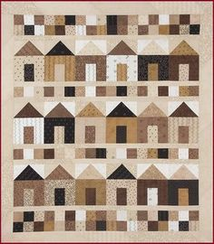 This would be a great quilt to make to remind a child that they always have a home :)
