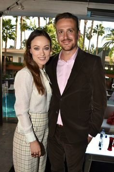 Olivia Wilde and Jason Segel attend the 'Indie Contenders Roundtable presented by The Hollywood Reporter' during AFI FEST 2015 presented by Audi at the Hollywood Roosevelt Hotel on November 8, 2015 in Hollywood, California.