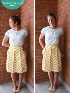 Perfect Pleats Skirt DIY 81 DIY: The Perfect Pleats Skirt