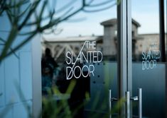 Vietnamese food at The Slanted Door: One of my favorite places to eat in San Francisco.
