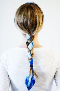 Hair and Beauty.  50 ways to wear a scarf.  Maybe I can do this with pink scarves for the next three years!