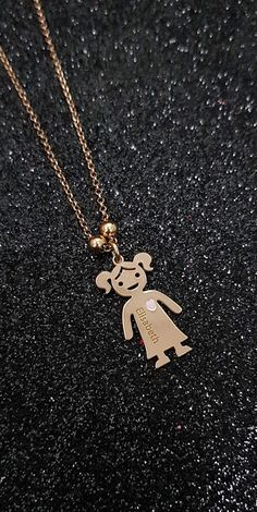 afe130e7ce6 Gold Jewelry 💎 Gold Jewelry - Mother's Necklace With Engraved Children  Charms 💎 Awesome gold jewelry