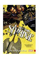 Doctor Strange. Vol. 1, The way of the weird / Jason Aaron, writer ; Chris Bachalo, penciler, colorist. While you're waiting for the Doctor Strange movie to come out, check out this first volume of the 2015 reboot. From his Sanctum Sanctorum in Greenwich Village, Stephen Strange, Master of the Mystic Arts, helps those afflicted with supernatural problems. His latest client is a Bronx librarian infested with otherworldly creatures--themselves merely the symptom of a far graver problem.