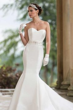 Choose the right wedding dress for your shape