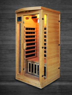 Himalayan Salt Cave Infrared Sauna Ultra Low EMF - 36x36x75""