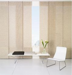 Contemporary Window Blind From The Shade