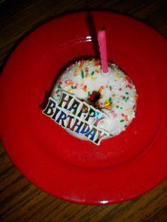 Cake Donut! 1st Birthday idea