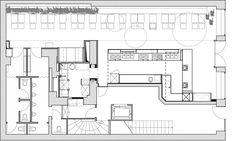 Image result for cafe canteen layout plan