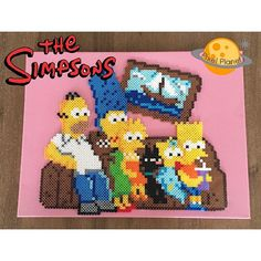The Simpsons perler beads by pixel_planet_