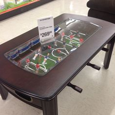 Foosball Coffee Table Coffee Spaces and Men cave