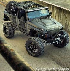 Starwood Motors Custom Kevlar Jeep- FMJ Edition.  Looks like a Merryweather jeep from GTA V