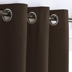 Toffee Brown Thermal Insulated Blackout Curtains 24_
