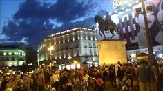 Madrid (Spain) Evening in the Plaza Sol 馬德里-傍晚的太陽門廣場
