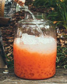 Letherbee Gin Punch - Letherbee Gin, Grapefruit Juice, Letherbee R. Franklin's Malört, Sugar/Honey/Agave, Citrus Garnish.