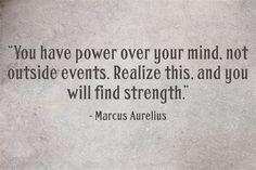 Marcus Aurelius quote -- Stoic wisdom.