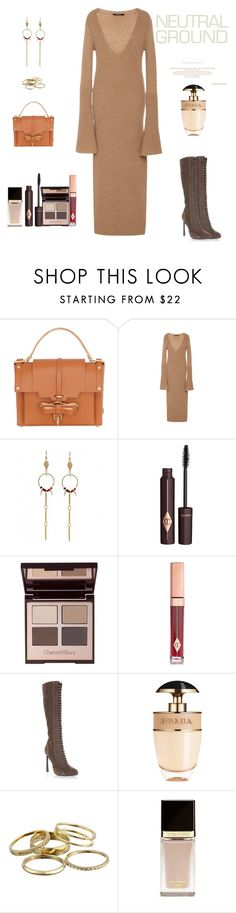 """Neutrals For Fall"" by sereneowl ❤ liked on Polyvore featuring Niels Peeraer, Derek Lam, Charlotte Tilbury, Giambattista Valli, Prada, Kendra Scott, Tom Ford, neutrals and contestentry"