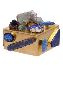 yeah.... its over $8k...  but whatever.... AQUAMARINE & APATITE BRONZE BAUBLE BOX - Kelly Wearstler