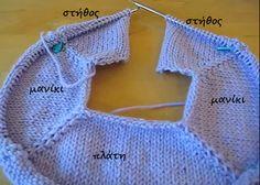 Crochet Poncho, Knit Crochet, Knitting Stitches, Crochet Bikini, Pullover, Sewing, Pattern, Sweaters, Handmade