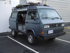Off Road Camper, Bus Camper, Vw Bus, Campers, Vw Syncro, T3 Vw, Vw Camping, Buses, Offroad