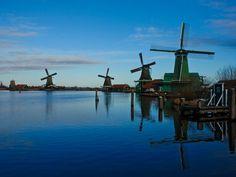 armsterdam travel pictures   Pride-Travel-AMsterdam-Netherlands-Holland-Zaanse-Schans-windmill ...