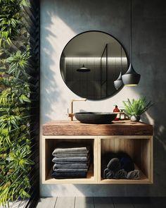 Green Bathroom on Behance