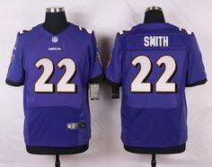 69e19851c NFL Customize Baltimore Ravens 22 Smith Purple Men Nike Elite Jerseys  Basketball Jersey, Basketball Game