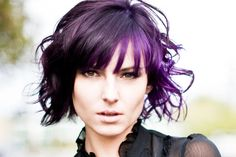 Would you go purple? It's such a flattering color for every skin tone!