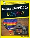 Nikon D40/D40X For Dummies Cheat Sheet