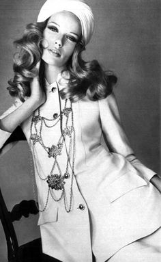 Veruschka for French Vogue, 1968
