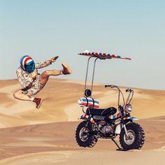This Suzuki RV 90 monkey bike from and has us smiling like fools. See. Modular Motorcycle Helmets, Bagger Motorcycle, Classic Honda Motorcycles, Cool Motorcycles, Ducati S4r, Honda Garage, Travis Pastrana, Cafe Racer Moto, Custom Hot Wheels