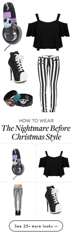 """""""Nightmare before Christmas =) (D if you want)"""" by im-punk-not-dead on Polyvore"""