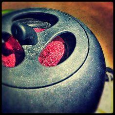 My littlebigsound apple speaker. Black.