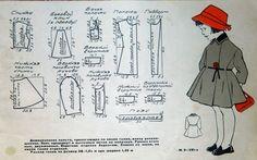 Одежда для кукол моего детства. Выкройки – 322 фотографии