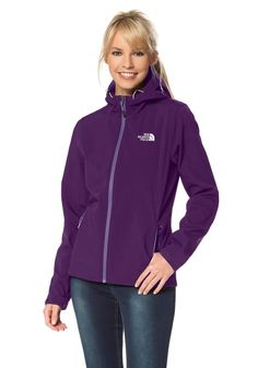 #The #North #Face #Damen #The #North #Face #Ontario #Softshelljacke #lila…
