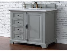 "36"" James Martin Providence Single Sink Bathroom Vanity. Found it on www.PremiereVanities.com!"