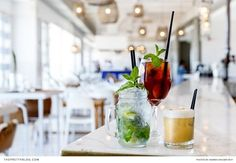 This Muizenberg Restaurant Is a Seaside Delight! Great View, Cape Town, Seaside, Good Food, Restaurant, Table Decorations, Design, Home Decor, Decoration Home
