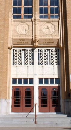 Will Rogers High School | Buildings in the National Register of Historic Places | Tulsa Preservation Commission