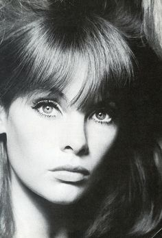 Jean Shrimpton by David Bailey, 1960's.