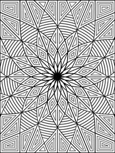 Printable Geometric Coloring Pages. Welcome to the geometric coloring pages! What do you know about geometric? Geometric Coloring Pages, Pattern Coloring Pages, Mandala Coloring Pages, Free Printable Coloring Pages, Coloring Book Pages, Coloring Sheets, Coloring Pages For Kids, Pintura Zen, Doodles