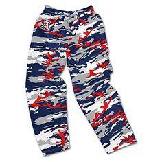c1c6a2738cc1b Zubaz NFL Arizona Cardinals Men's Camo Print Team Logo Casual Active Pants,  Large, Red