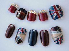 toenail painting pictures | SWINGING LONDON NAIL ART » Cosmetics nail polish