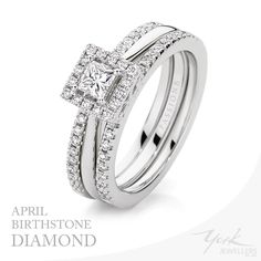 York Jewellers Diamonds for the month of April!