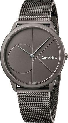 Мужские швейцарские наручные часы Calvin Klein K3M517P4