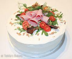 Ham bread cake