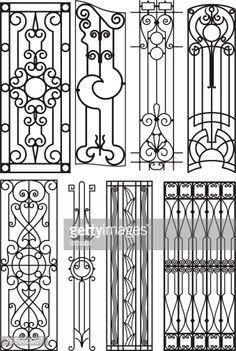 Resultado de imagen para art deco steel fence designs