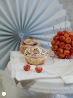 Apfeltörtchen mit Blätterteig