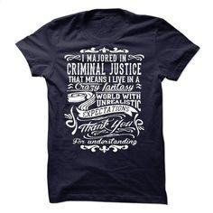 I Majorted In Criminal Justice T Shirts, Hoodies, Sweatshirts - #hoodies #designer shirts. GET YOURS => https://www.sunfrog.com/LifeStyle/I-Majorted-In-Criminal-Justice.html?60505