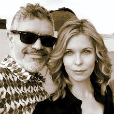 Dennys Ilic - Shooting with the beautiful actress Kate Vernon. Love me my Cylon Gerls  This one has a beautiful soul!
